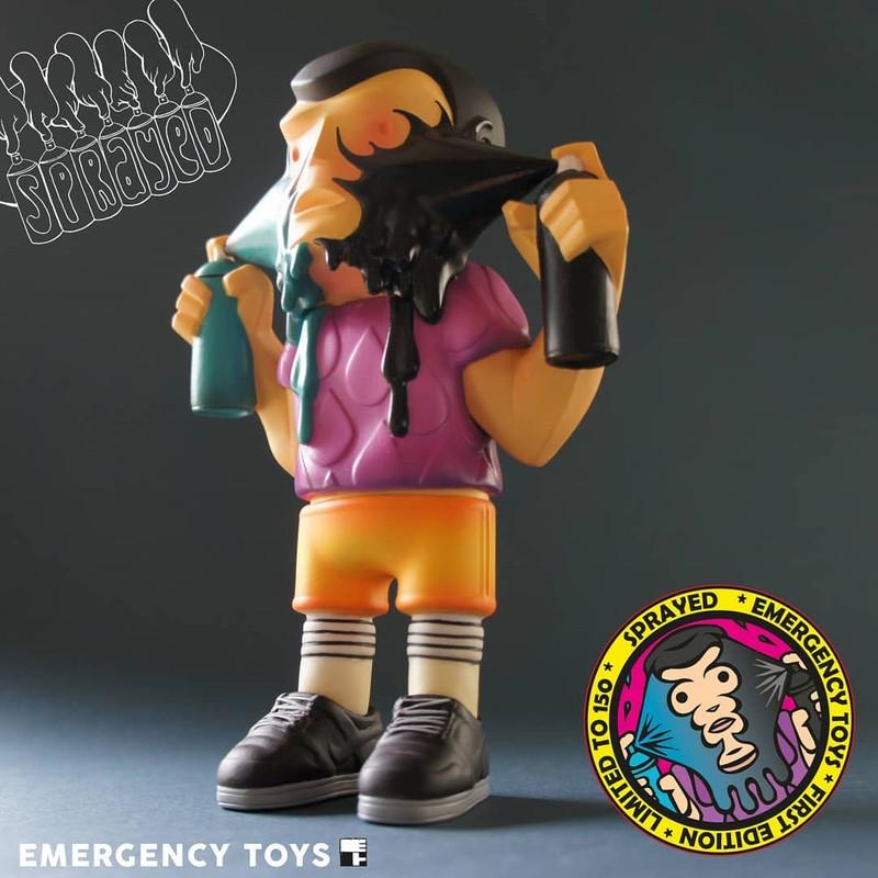 Sprayed by Emergency Toys