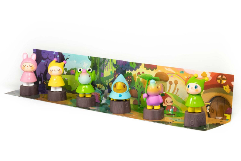 Greenie & Elfie Rainy Day Blind Box by Too Natthapong PRE-ORDER SHIPS MAY 2021