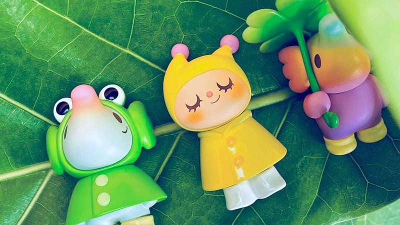 Greenie & Elfie Rainy Day Blind Box by Too Natthapong