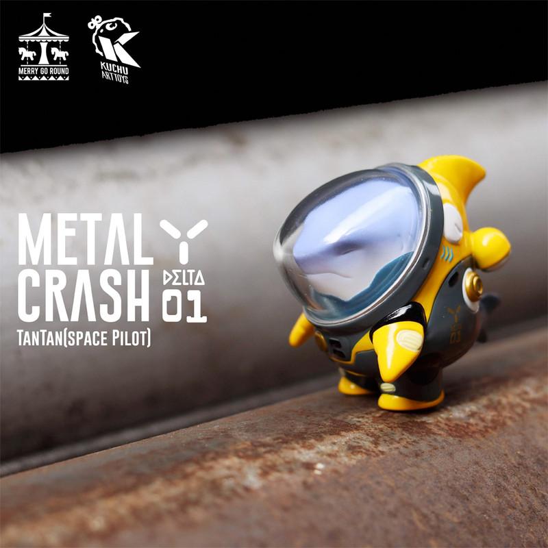Space Pilot TAN TAN Metal Crash Yellow by Kuchu PRE-ORDER SHIPS LATE MAY 2021