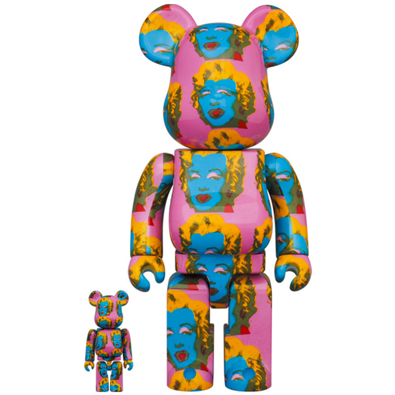 Be@rbrick 400% and 100% Andy Warhol's Marilyn Monroe #2 PRE-ORDER SHIPS NOV 2021