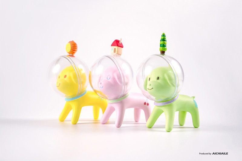 Space Dog Little Forest Series by Han Ning PRE-ORDER SHIPS JUL 2021