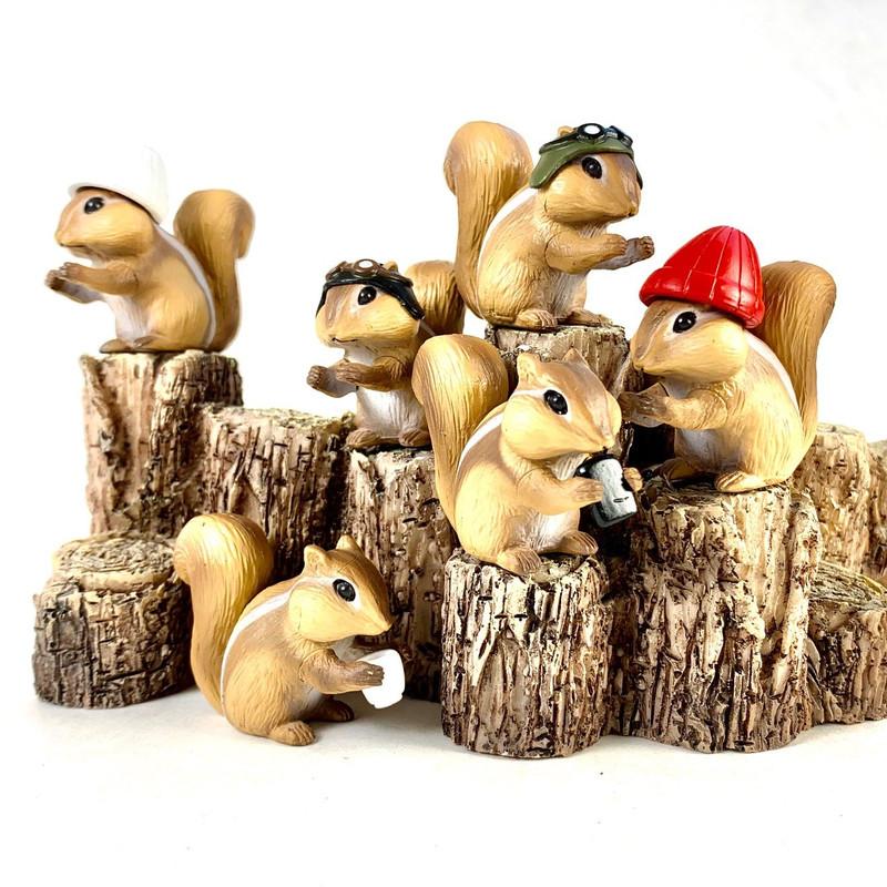 Chipmunk Capsule Toys SHIPS WEEK OF MAY 24 2021