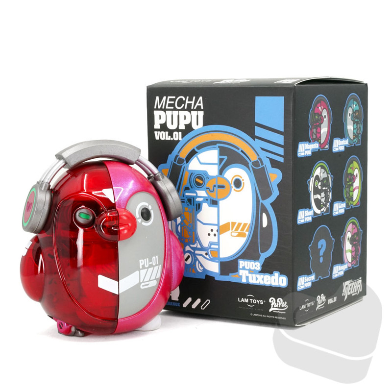 Mecha Pupu Series Blind Box