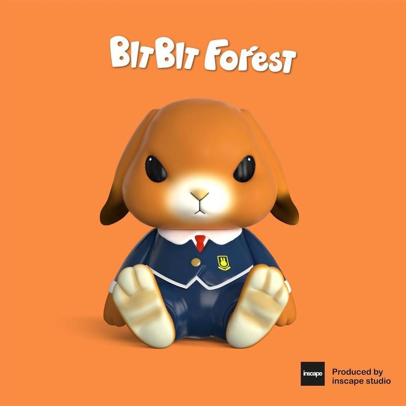 Bit Bit in School Uniform by Bit Bit Forest