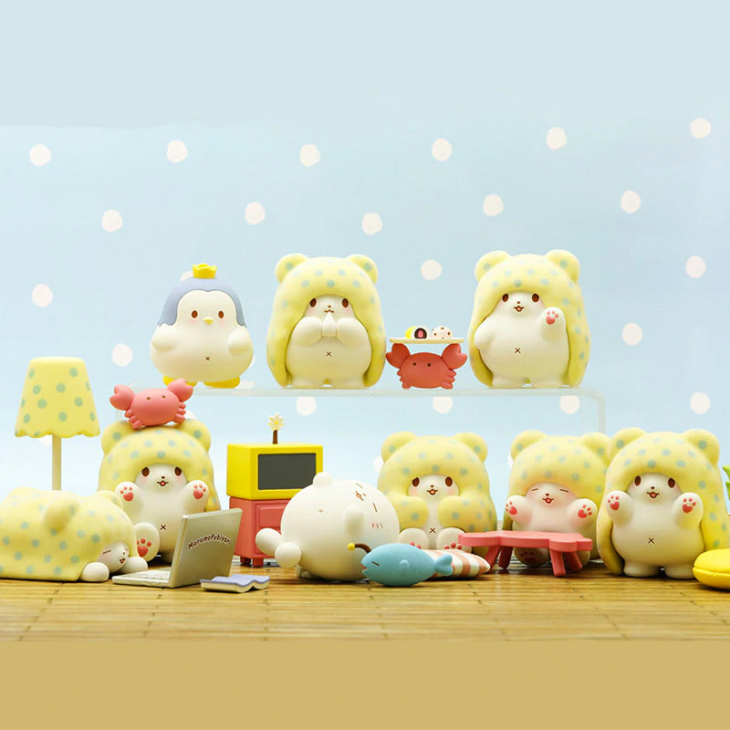 Marumofubiyori Blanket Bear Blind Box PRE-ORDER SHIPS JUN 2021