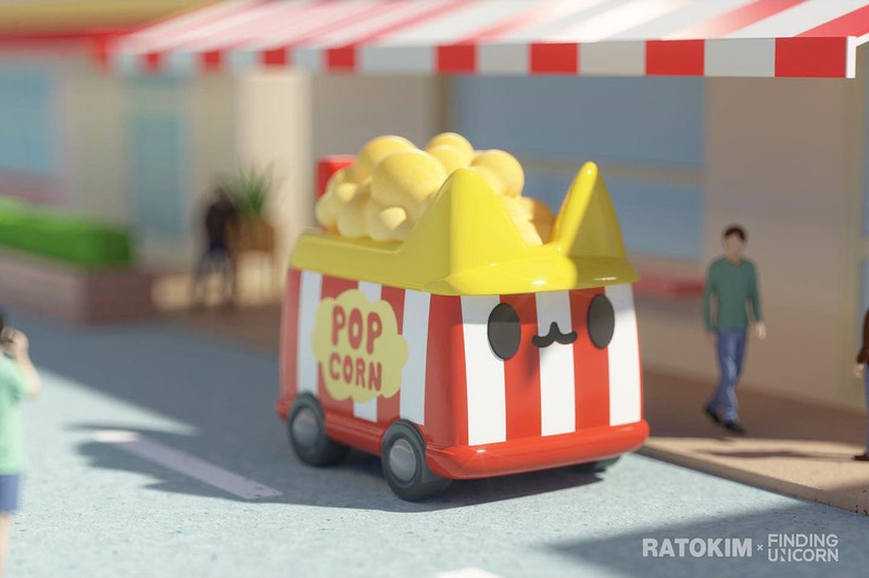 Boxcat Transport Series Blind Box by Rato Kim PRE-ORDER SHIPS JUL 2021