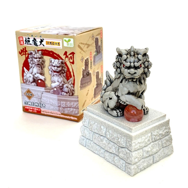 Komainu Lion Guardian Statue Blind Box
