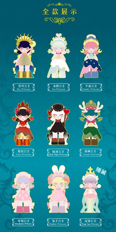 Ruby Magic Mirror Princess Series Blind Box PRE-ORDER SHIPS JUL 2021