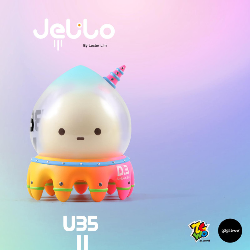 Jelilo U35 Defend Unit by Lester Lim PRE-ORDER SHIPS OCT 2021