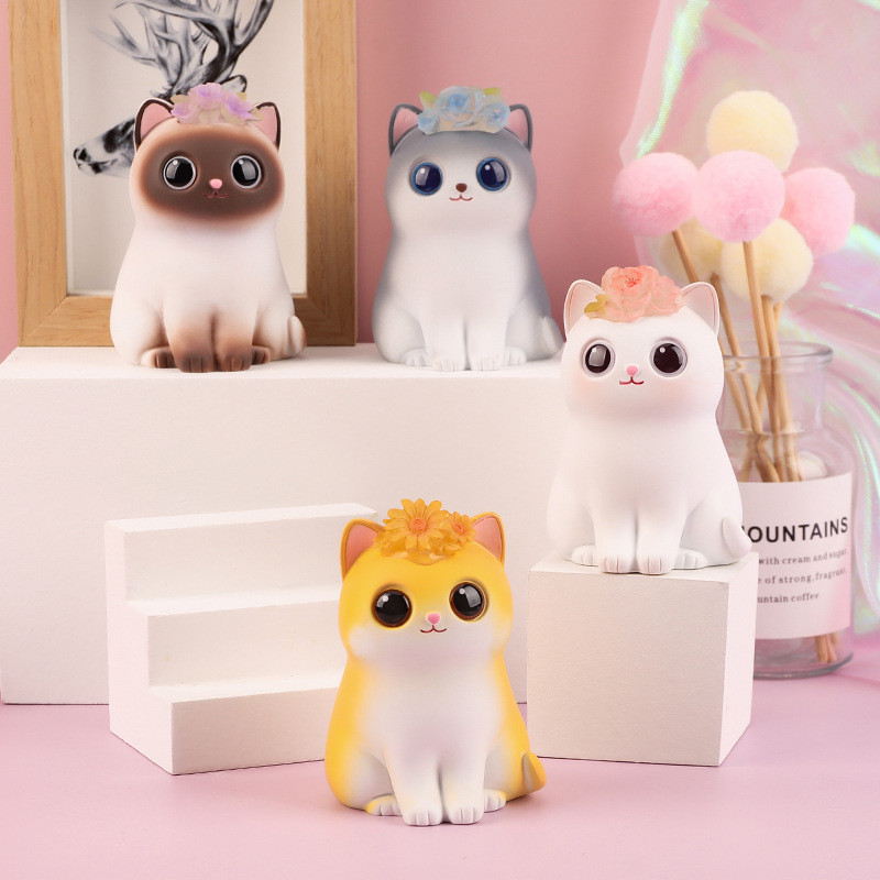 Flower and Cat Blind Box PRE-ORDER SHIPS SEP 2021
