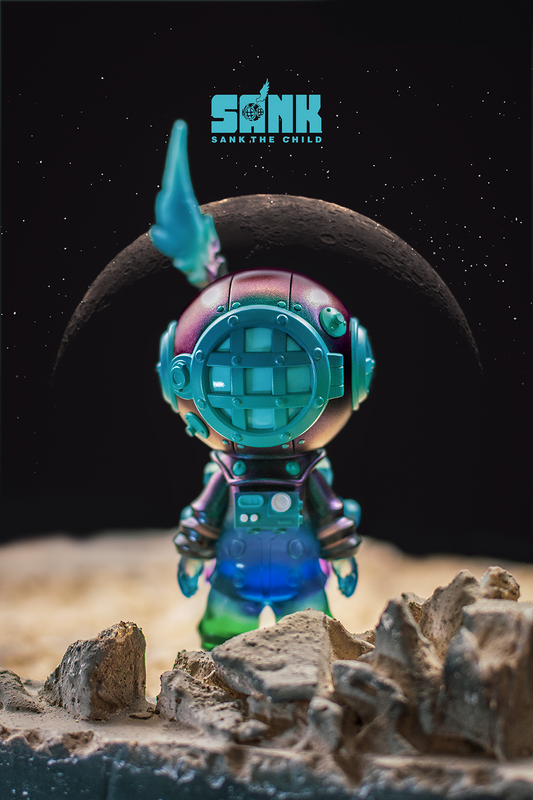On the Way Space Traveller Dark Fantasy by Sank Toys PRE-ORDER SHIPS JUL 2021