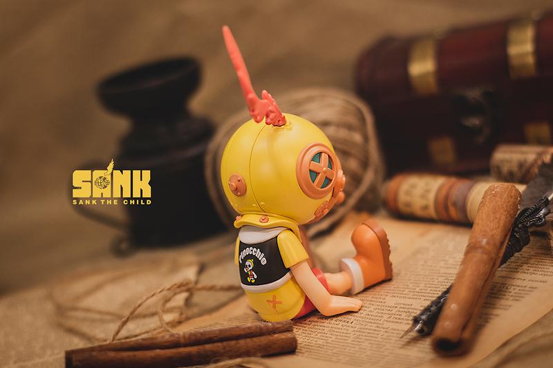Sank Good Night Series Pinocchio by Sank Toys PRE-ORDER SHIPS JUL 2021