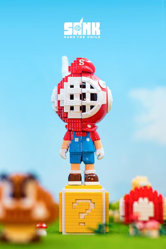 Sank Pixel Series NES by Sank Toys PRE-ORDER SHIPS JUL 2021