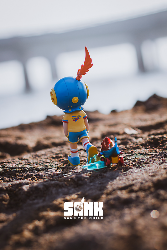 Lonely Park Go Walking 1980's by Sank Toys PRE-ORDER SHIPS JUL 2021