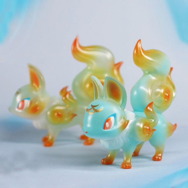 Phantom Fox Summer Goldfish by Genkosha PRE-ORDER SHIPS JUN 2021