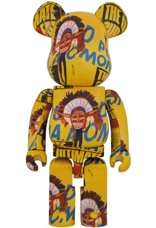 Be@rbrick 1000% Andy Warhol X Jean Michel Basquiat #3 PRE-ORDER SHIPS JAN 2022