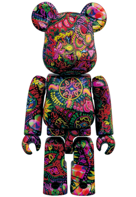 Be@rbrick 400% and 100% Psychedelic Paisley PRE-ORDER SHIPS OCT 2021