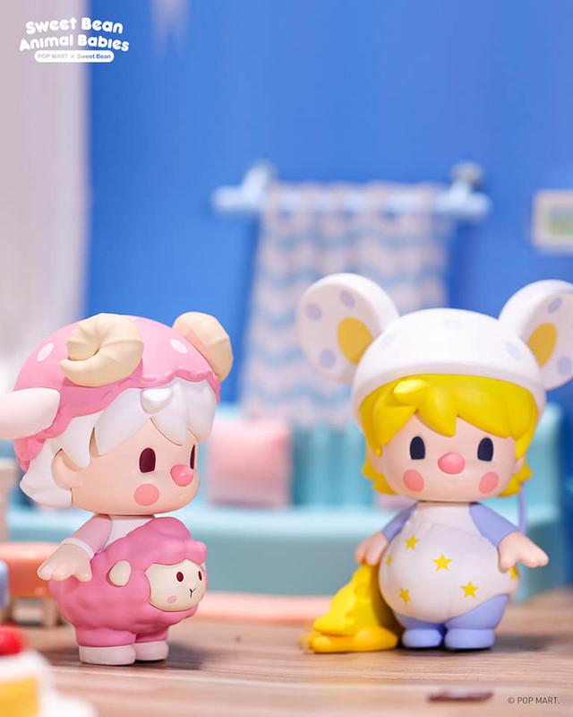 Sweet Bean Animal Babies Mini Series Blind Box by PDC