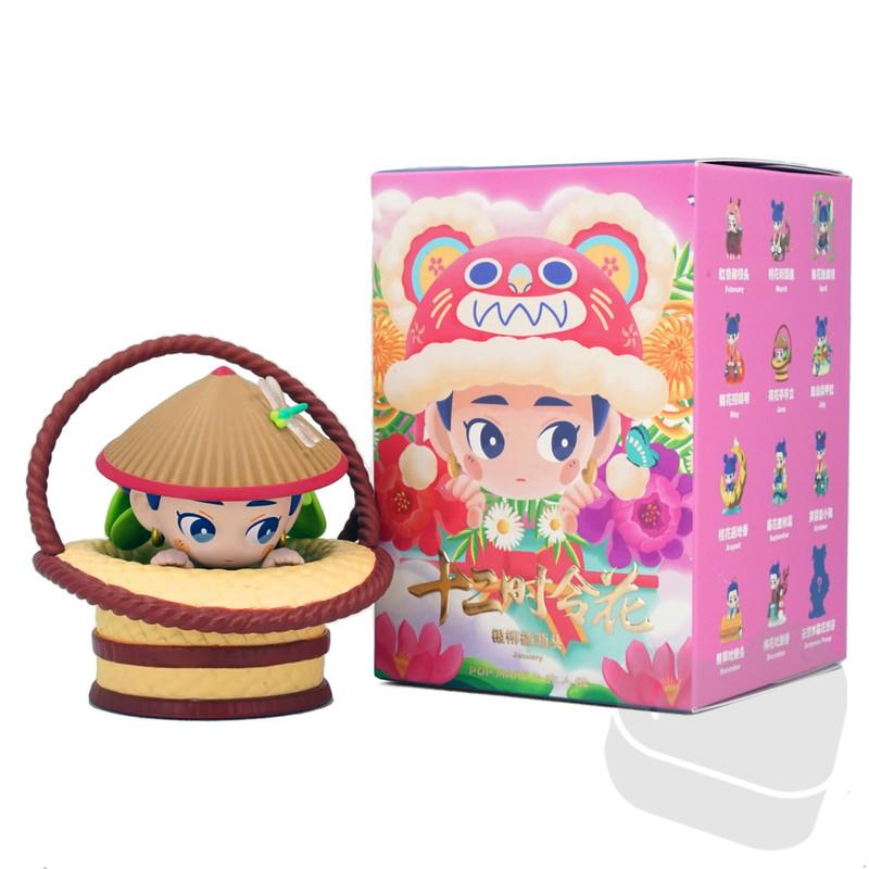 Nezha Seasonal Flowers Mini Series Blind Box