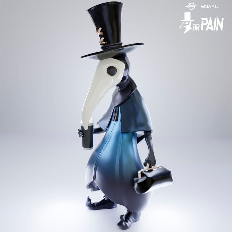 Dr. Pain by Snake Wong PRE-ORDER SHIPS DEC 2021