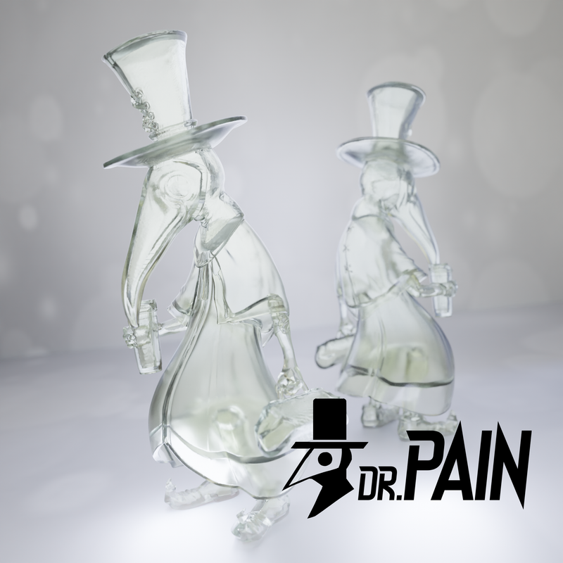 Dr. Pain Clean Edition by Snake Wong PRE-ORDER SHIPS DEC 2021