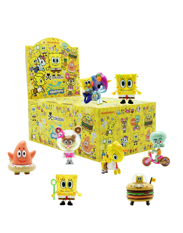 tokidoki x SpongeBob SquarePants Blind Box