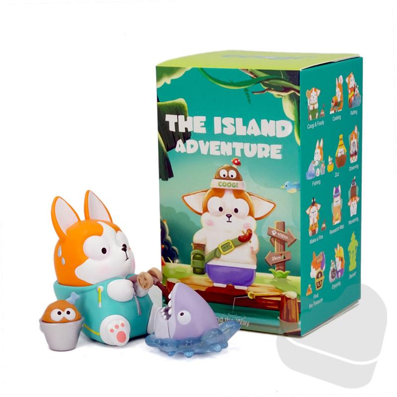 Coogi & Foody The Island Adventure Mini Series Blind Box