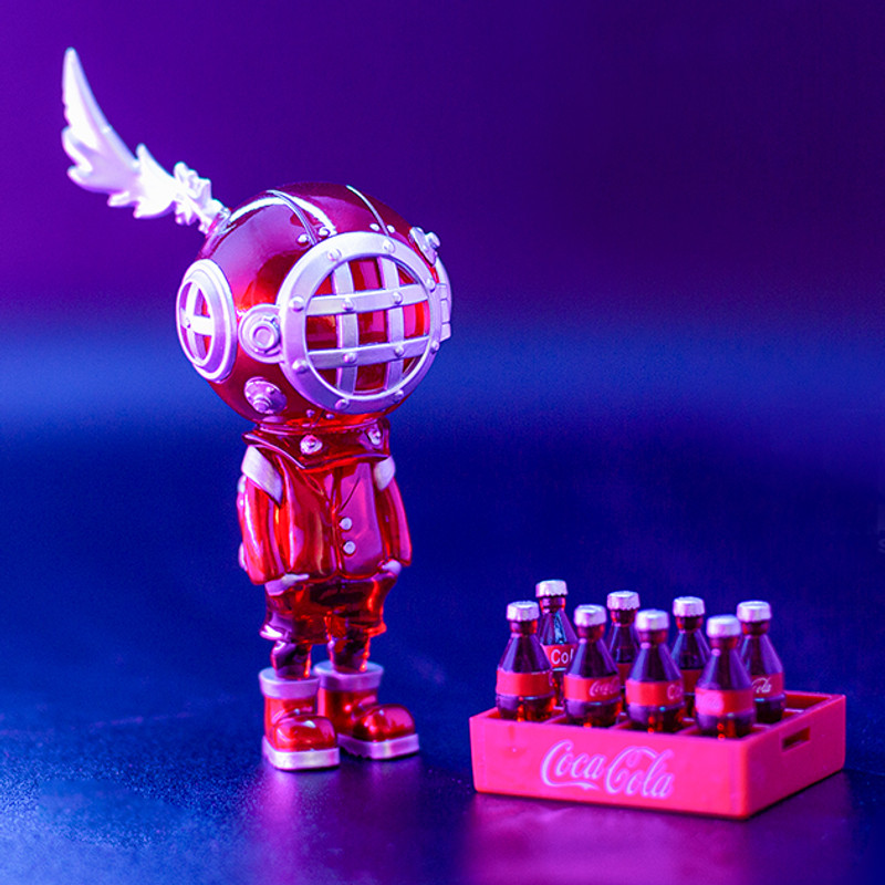 Backpack Boy Spectrum Series Red Tide by Sank Toys