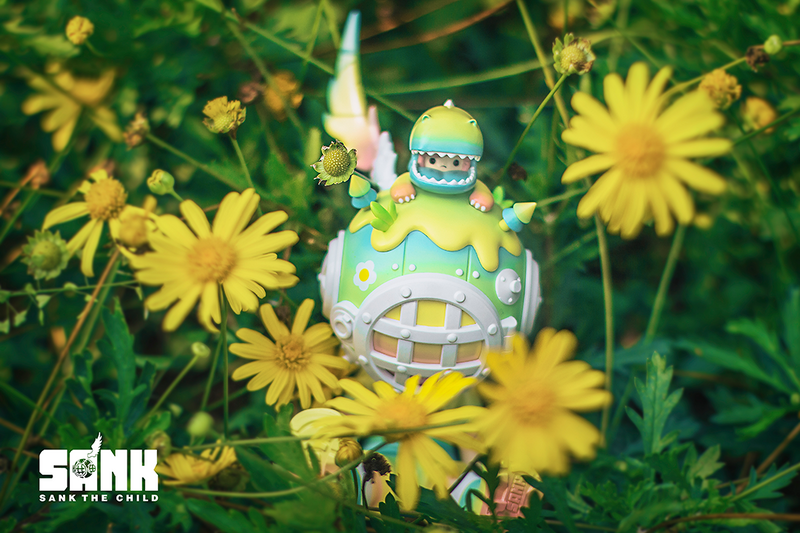 Keep Me Company Spring by Sank Toys x Litor's Works PRE-ORDER SHIPS AUG 2021