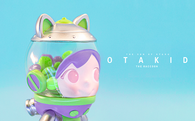 OTAKID Baby Raccoon Buzz by Sank Toys PRE-ORDER SHIPS AUG 2021