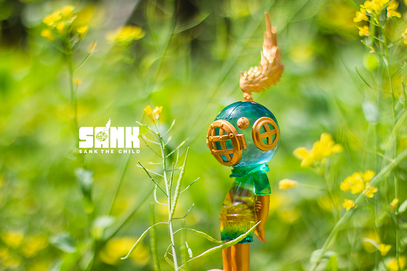 The Void Spectrum Series Green by Sank Toys PRE-ORDER SHIPS AUG 2021