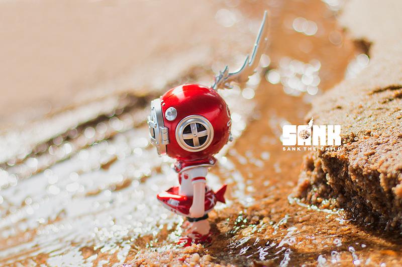On the Way Beach Boy Shark by Sank Toys PRE-ORDER SHIPS AUG 2021