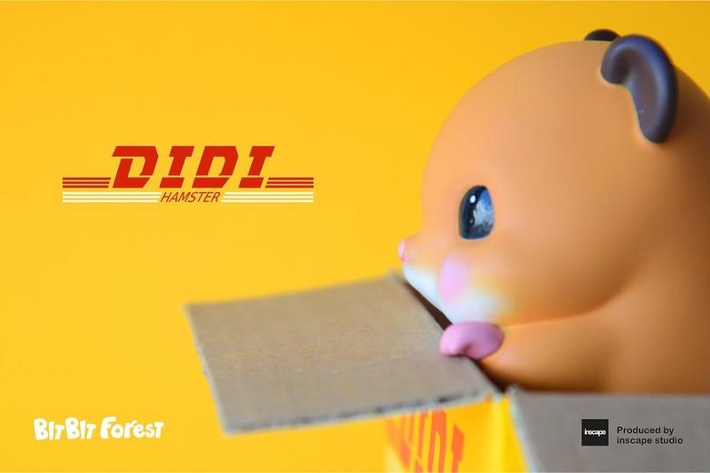 DiDi Hamster by Chan Siu Kau PRE-ORDER SHIPS OCT 2021