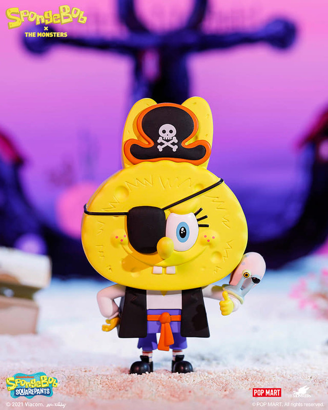 The Monsters x Spongebob Mini Series Blind Box by Kasing Lung