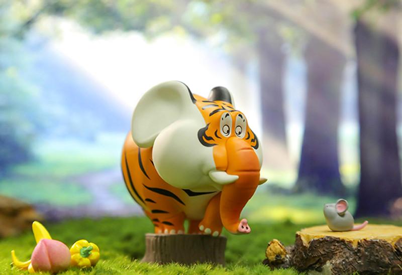 Panghu Fat Tiger Variety Series Blind Box by Bu2ma PRE-ORDER SHIPS OCT 2021
