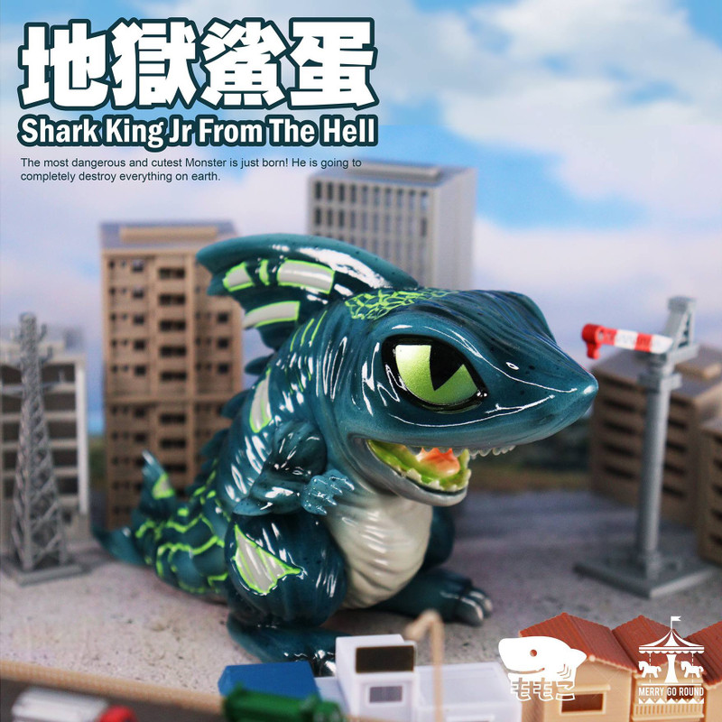 Shark King Jr. From The Hell by Momoco