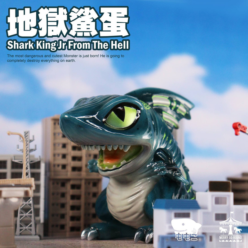 Shark King Jr. From The Hell by Momoco PRE-ORDER SHIPS AUG 2021