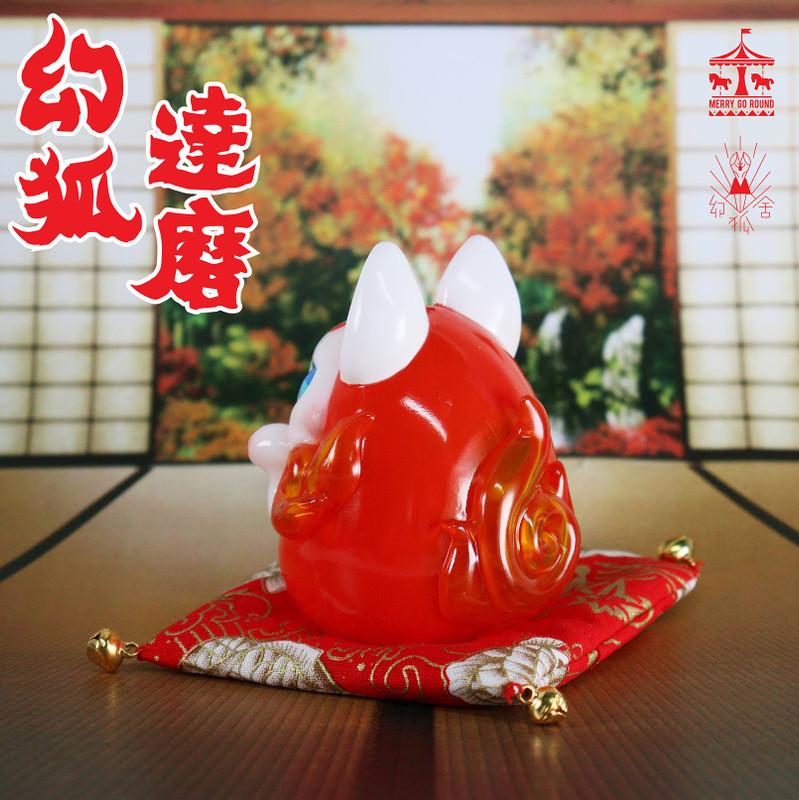 Red Daruma by Genkosha
