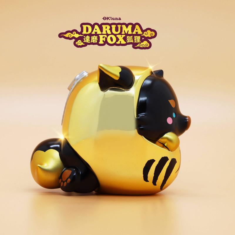 Daruma Fox Ray by OKLuna
