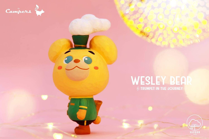 Wesley Bear by The Campers from Vapour Park PRE-ORDER SHIPS AUG 2021