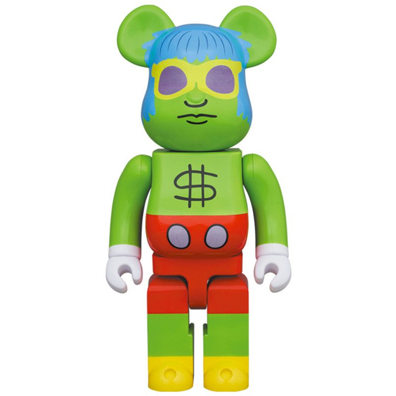 Be@rbrick 1000% Andy Mouse by Keith Haring PRE-ORDER SHIPS FEB 2022 PRE-ORDER SHIPS SEP 2022