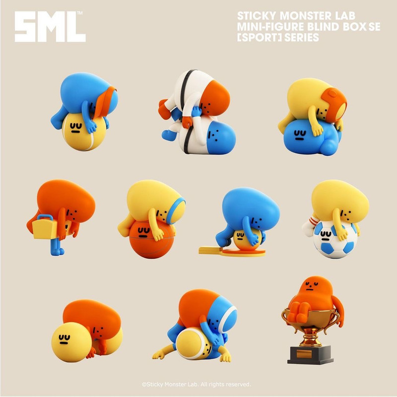 Sticky Monster Lab Sports Series Blind Box PRE-ORDER SHIPS SEP 2021