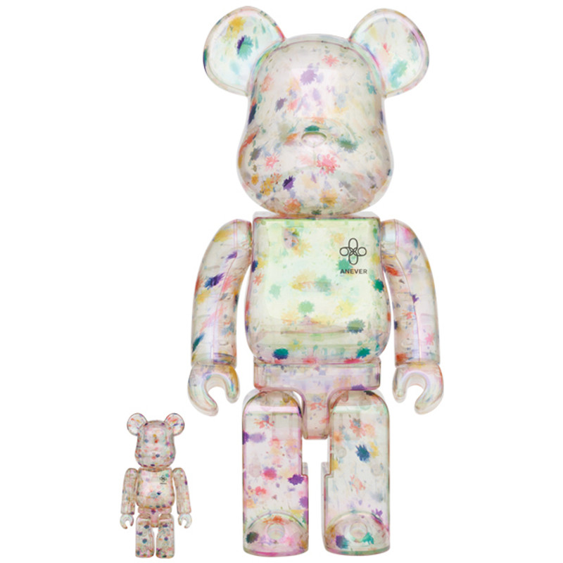 Be@rbrick 400% and 100% ANEVER PRE-ORDER SHIPS FEB 2022