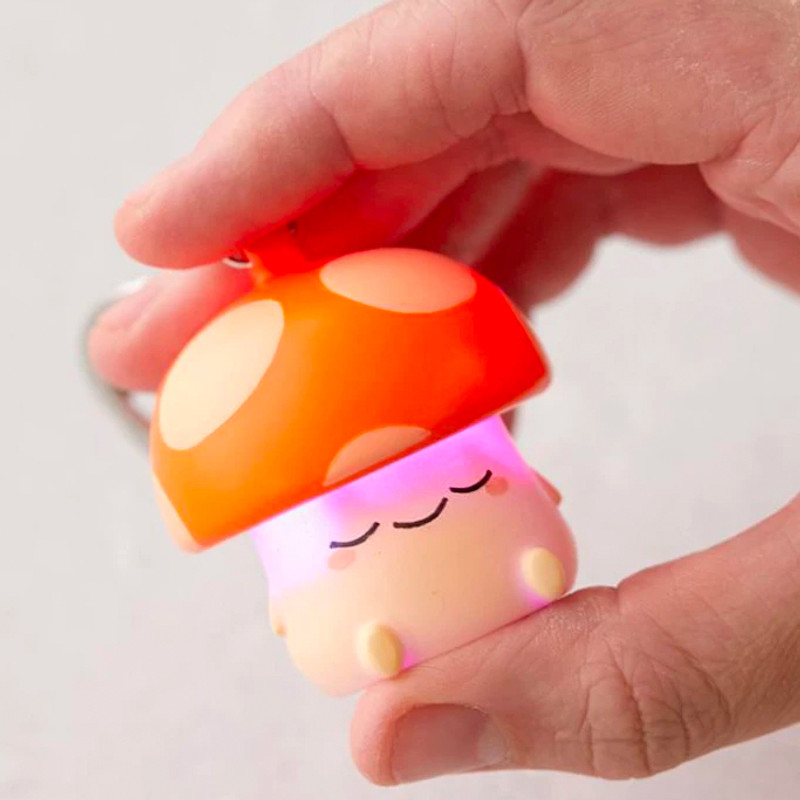 Kai Mushroom Light-Up Keychain