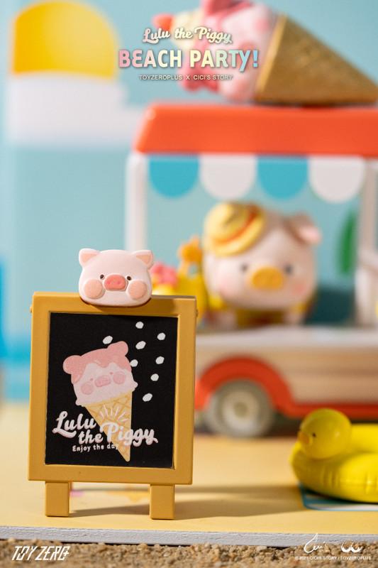 Lulu the Piggy Ice Cream Van Premium Set PRE-ORDER SHIPS SEP 2021