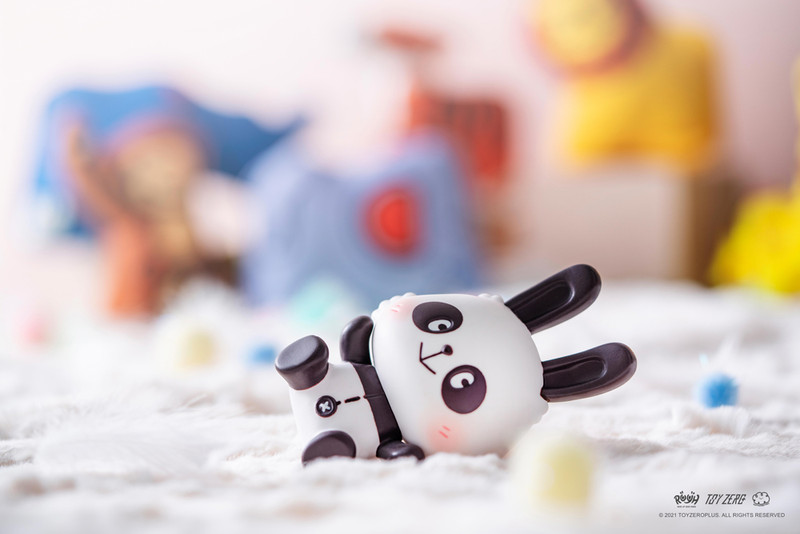 Raise Up Your Hands (R.U.Y.H.) Robin Panda by Kotton Factory PRE-ORDER SHIPS OCT 2021