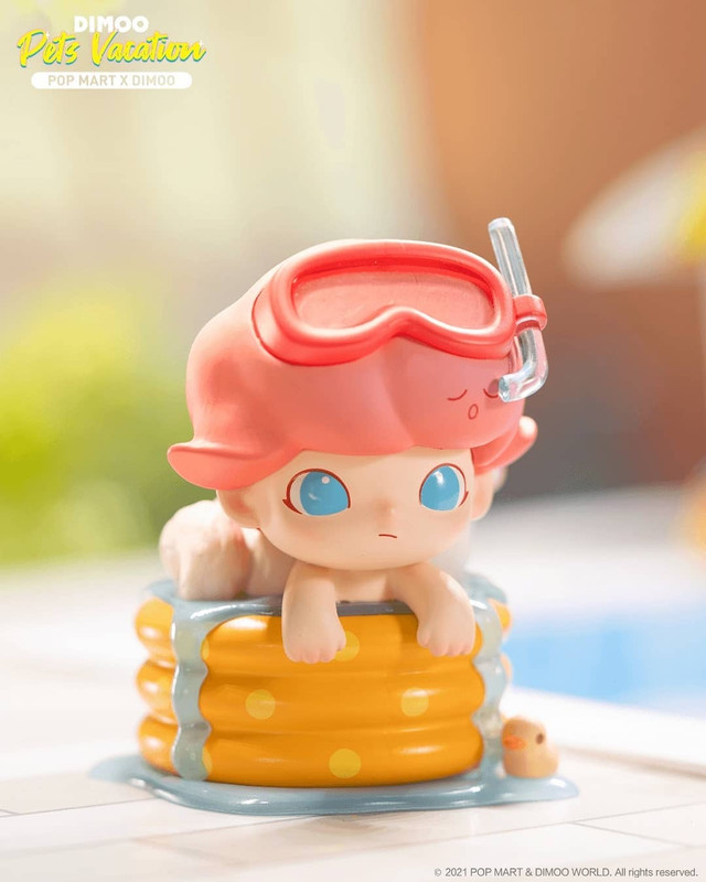 Dimoo Pets Vacation Mini Series Blind Box by Ayan