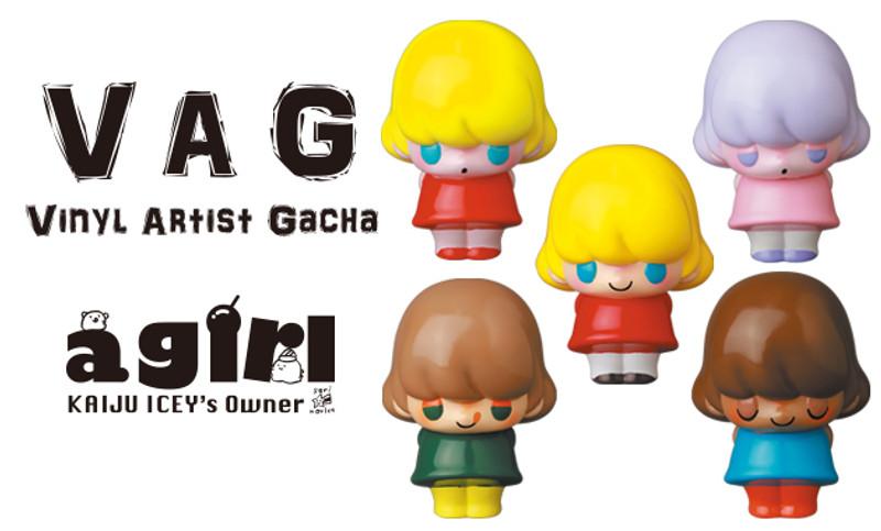 Vinyl Artist Gacha Series 28 a.girl by Seri Norica PRE-ORDER SHIPS SEP 2021