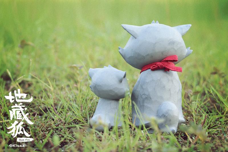 Jizo Fox Set by OKLuna PRE-ORDER SHIPS NOV 2021